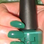 OPI H45 Jade is the New Black