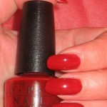 OPI E01 Red, Red Rhine