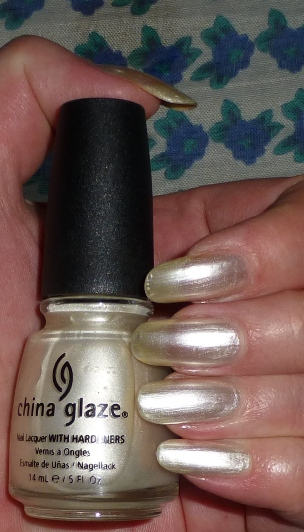 China Glaze CG-77050 Platinum Pearl
