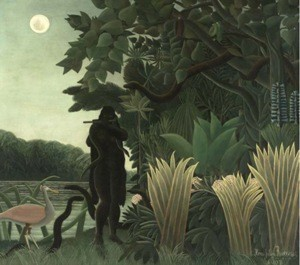 Demeter - Великие Модернисты, La Charmeuse de serpents by Henri Rousseau